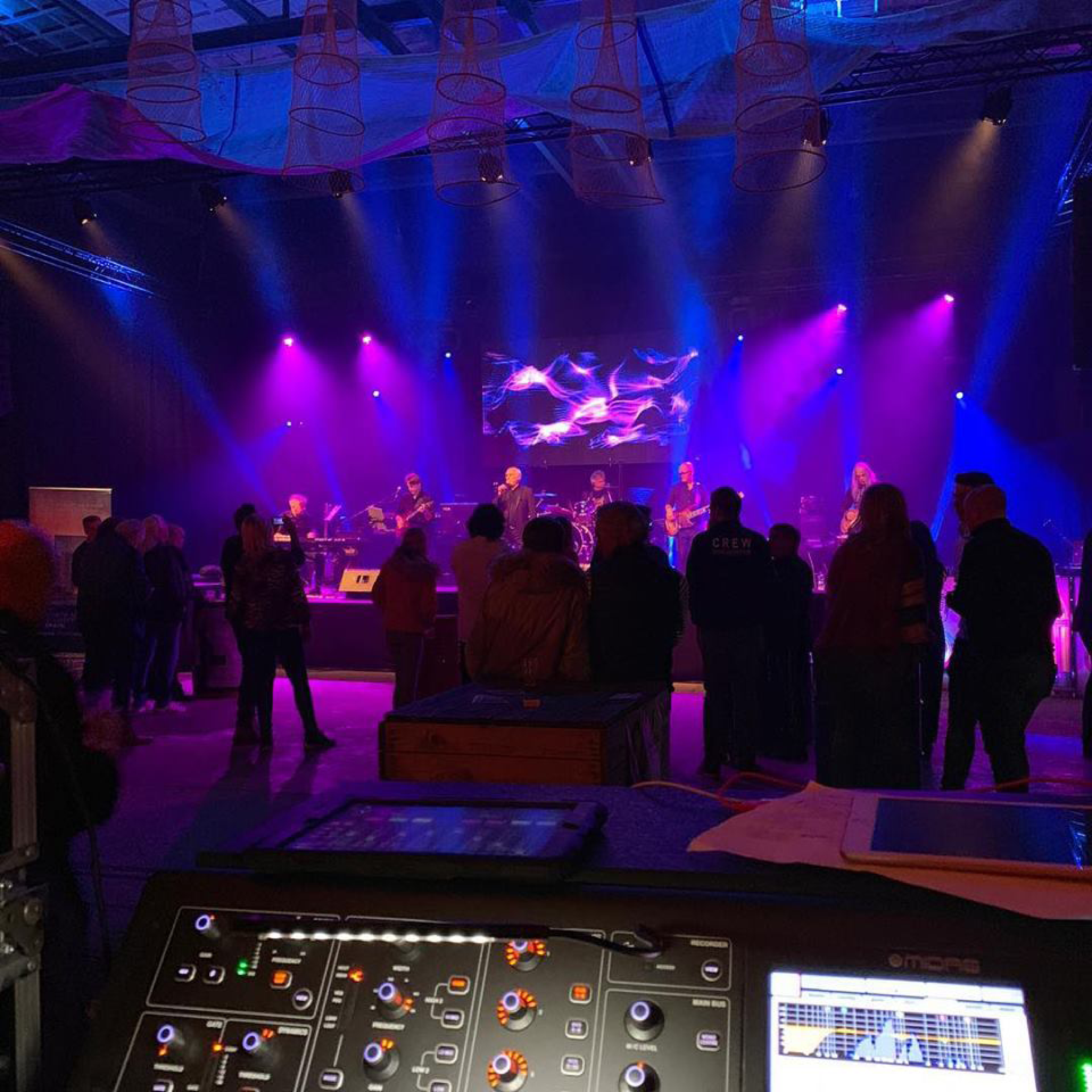 Techniek optredens Bergen op Zoom